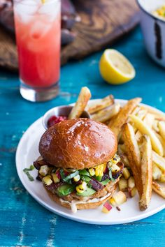 Lobster Burgers w/ Browned Butter Lemon Aioli + Basil Corn Salsa, Bacon & Avocado | Seafood Recipe | Football