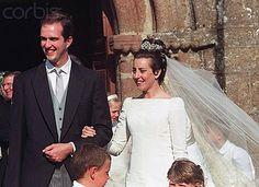 Duke Eudes of Angouleme + Marie Liesse de Rohan-Chabot via Royaldish Royal Brides, Royal Weddings, Hugh Capet, Royal Tiaras, Royal Jewels, French Royalty, Casa Real, Bridal Gowns, Wedding Dresses