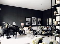 Bianca Ingrosso » MY SECOND HOME Interior Decorating, Interior Design, Stylish Home Decor, Sweet Home, New Homes, Indoor, Living Room, Designers Guild, Table