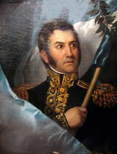 Today in History - July 1822 - Secret meeting of Simon Bolivar (Venezuelan military and political leader) Jose de San Martin (Military General fighting for Latin America's independence from Spain) Gaucho, America Independence, Argentina Flag, Today In History, Hispanic Heritage, Jean Baptiste, American War, Latin America, South America