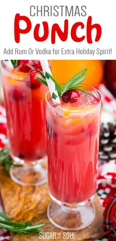 Christmas Drinks Alcohol, Christmas Party Drinks, Party Drinks Alcohol, Alcohol Drink Recipes, Christmas Appetizers, Holiday Parties, Holiday Drinks, Alcoholic Party Punches, Bonbon