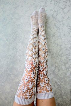 online underwear, buy socks, nbb Source by Stockings Lingerie, Sexy Stockings, Lace Socks, Crochet Slippers, Crochet Boot Socks, Crochet Leg Warmers, Thigh High Socks, Thigh Highs, Buy Socks