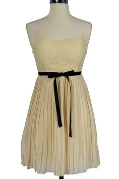 Romantic Night In Paris Dress In Ivory