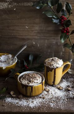 Coconut Hot Chocolate | Migalha Doce