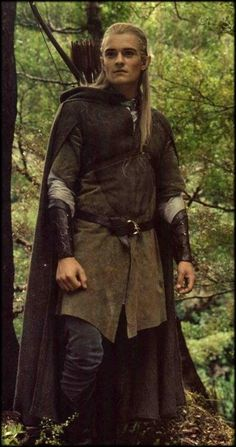 I know I pin so many pictures of Legolas, but he is beautiful.  No argument.  If you do argue - your argument is invalid.