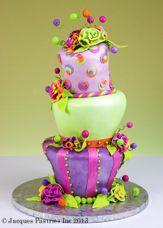 Colourful Crazy Cake