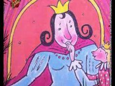 LA REINA DE LOS BESOS. Kristien Aertssen. La princesa vive feliz en el castillo, pero está absolutamente necesitada de besos. Su mamá, la reina, no tiene tiempo para dedicarle a su hija y le recomiendo ir a buscar a la reina de los besos. Encuentra a la reina de los gatos, de los pasteles, de las flores y muchas otras reinas, pero no encuentra por ningún sitio a la reina de los besos (Oceano) - YouTube Reading Stories, Bedtime Stories, Just Video, Children's Literature, Childrens Books, Spanish, Fictional Characters, Short Stories, School