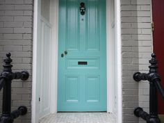 Door Decor: Up the Ante with Color, Pattern and Texture   Apartment Therapy