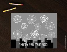 New Year's Eve Countdown Coloring Sheet - Playdough To Plato
