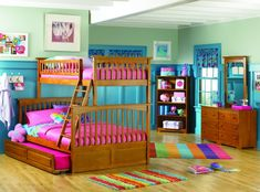 Shop Columbia Bunkbed Twin Over Full Futon w 2 Raised Drers in CL with great price, The Classy Home Furniture has the best selection of to choose from Teenage Girl Bedroom Designs, Teenage Girl Bedrooms, Girls Bedroom, Bedroom Ideas, Twin Full Bunk Bed, Girls Bunk Beds, Cool Beds For Teens, Home Entertainment Furniture, Atlantic Furniture