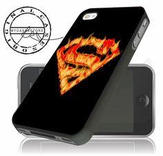 Superman Fire Logo iPhone 5S/5C/5/4S Case,iPhone 6/6 Plus Case – mycasesstore