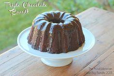Triple Chocolate Bundt - I Like Big Bundts 2013 by Food Librarian, via Flickr