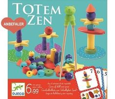 Djeco Totem Zen shop the range of Djeco games at the online toy shop from contemporary brands - birthday present for boy - stocking filler Pijama Party Juegos, Using Chopsticks, Puzzle Crafts, Musical Toys, Toys Online, Toy Store, Wooden Beads, Educational Toys, Totems