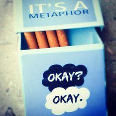 The fault in our stars cigarette case por VintagemeBilbao en Etsy, €8.00