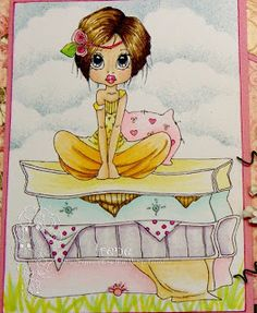 Irene's Card Creations: Saturated Canary - Penelope