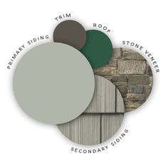 Our house colors Exterior Color Palette, Exterior Paint Schemes, House Paint Exterior, Exterior House Colors, Farmhouse Exterior Colors, Siding Options, Stone Siding, Siding Colors, House Color Schemes
