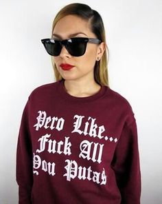 Lol! I would totally rock this but I'd want it in a hoodie. Y qué?