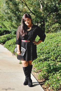 Curvy Girl Chic - Plus Size Fashion and Style Blog: October 2012