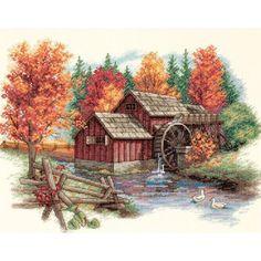 Autumn Cross Stitch {$15}