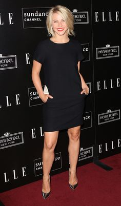Julianne Hough stepped out for a party in honor of Joe Zee in LA.