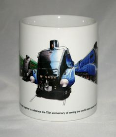 Railway Mug. Six Pacific's by GMorganIllustration on Etsy Union Of South Africa, Mug Decorating, Just In Case, A4, How To Draw Hands, Christmas Gifts, Ceramics, Mugs, Tableware