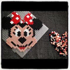 Minnie Mouse Hama Bügelperlen by coni85