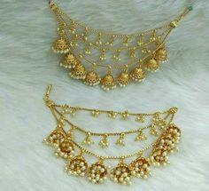 Handmade Jewellery by Afghan Artisians Diamond Earrings Indian, Indian Jewelry Earrings, Indian Jewelry Sets, Indian Jewellery Design, Jewelry Design Earrings, Gold Earrings Designs, India Jewelry, Bridal Jewelry Sets, Gold Jewelry