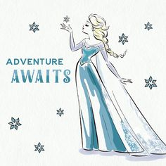 """4,383 Likes, 16 Comments - Disney Frozen (@disneyfrozen) on Instagram: """"Playing it cool is in her nature. ❄️ (Swipe to see more.)"""""""