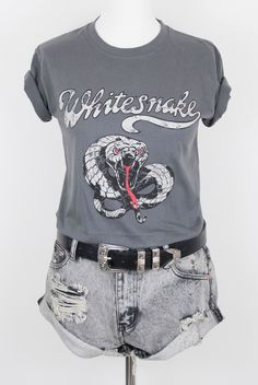 At Little Lies, we reckon there's nothing better to wear than a classic band tee. We stock AC/DC, Whitesnake, Metallica, Rolling Stones, Nirvana and more!