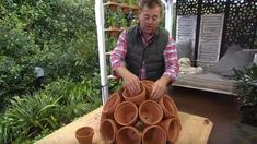Genius Planter Idea to Add Something Interesting to Your Backyard | DIY Joy Projects and Crafts Ideas.. more than just the sphere of pots.. #artsandcrafts