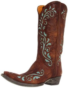 Old Gringo Estere Western Boot, I am in a turquoise phase,  love these