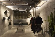 Proenza Schouler flagship store by Adjaye Associates, New York store design  http://retaildesignblog.net/2013/01/08/proenza-schouler-flagship-store-by-adjaye-associates-new-york/#