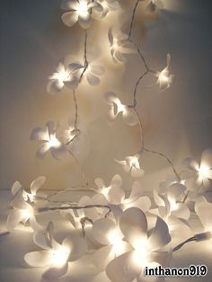 Flower lights, always wanted these in my room when I was younger