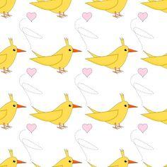 Free digital nursery bird scrapbooking paper 2 - ausdruckbares Geschenkpapier - freebie | MeinLilaPark – DIY printables and downloads