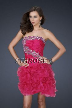 FLATTERING BEADED PINK COCKTAIL/PROM SHORT DRESS; AU 8  AU$99.99..  http://www.9throse.com/?main_page=product_info=20_id=300