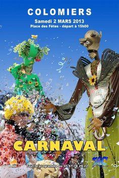 Karneval in Colomiers am 2. März 2013  Carnaval 2013 - Fédération Associative Columérine