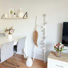 Ladder Decor, Sweet Home, Shelves, Instagram Posts, Home Decor, Style, Shelving, Homemade Home Decor, House Beautiful