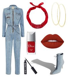 """Untitled #34"" by clarabellasweet ❤ liked on Polyvore featuring Sea, New York, Lana, New Look, Christian Dior, Lime Crime and Stargazer"
