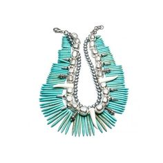 DANNIJO Malawi Necklaces ($458) ❤ liked on Polyvore