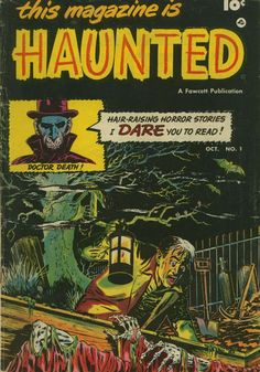 Comic Book Cover For This Magazine Is Haunted v1 #1