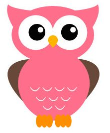 Pink and brown owl clip art – Animal Life Owl Crafts, Preschool Crafts, Paper Crafts, Classroom Birthday, Owl Classroom, Owl Clip Art, Owl Art, Owl Parties, Fabric Animals