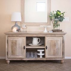 Versatile furniture is the best furniture—and that's why our Crossmill TV Stand is a best-seller! Use it in your entryway, your dining room, your bedroom and more. : @justdestinymag