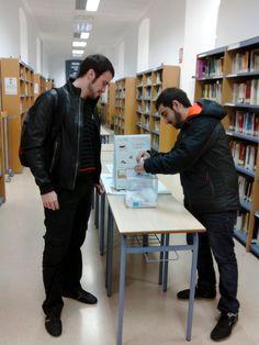 Participación de la Biblioteca de la Facultad de Empresa y Gestión Pública (BUZ) en la 13ª edición de la Olimpiada Solidaria de Estudio 2015.
