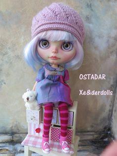RESERVED-OOAK Custom Blythe doll Art doll OSTADAR by XeiderDolls