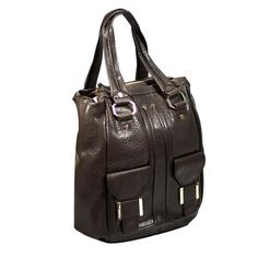 Gianfranco Ferre GFF WX5BNC 80554 U254 Large Brown Tote/Shoulder Bag