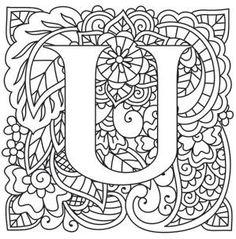 Mendhika Letter U_image