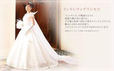 Wedding dress by Tokyo disneyland