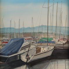 sandysign | Bateaux au port à Genève