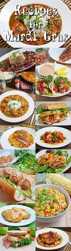 Delicious Recipes for Mardi Gras
