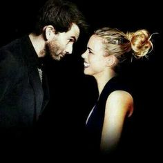 David Tennant and Billie Piper.  Oh my girls know JUST what I need!